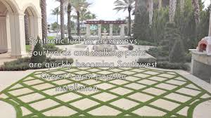 Courtyards by Paver Strips For Driveways And Courtyards Artificial Grass In