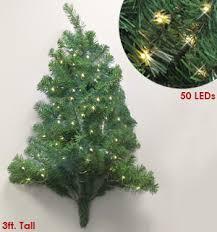 3 foot pre lit wall tree pulsetv