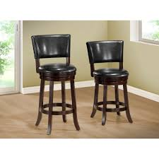 Black Leather Swivel Chairs Modern Black Leather Bar Stools Cabinet Hardware Room