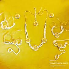 wedding flowers jewellery yellow flower jewellery jewelsome