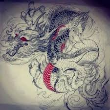 tattoo dragon water pin by hùng art on bắp tay ngực pinterest tattoo tatoo and