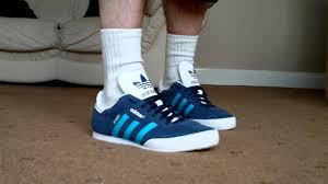 hemp sambas adidas samba trainers blue light blue