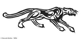 tribal panther by leopardprintfedora on deviantart
