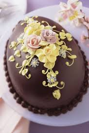 Easter Decorated Bundt Cake by Best 25 Chocolate Easter Cake Ideas On Pinterest