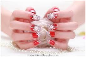 bridal nail art ideas wedding nails polish designs 2015