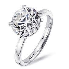 brilliant rings images Samie collection 4 carat round brilliant cubic zirconia solitaire jpg