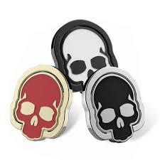 metal skeleton ring holder images New skull tablet cell phone holder finger ring stand metal ring jpg