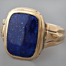 men vintage rings images Fay cullen archives rings vintage men 39 s lapis lazuli ring jpg