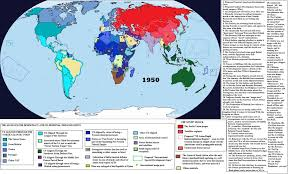 World Time Map Axis Of Time 1950 By Quantumbranching On Deviantart