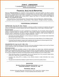Financial Services Resumes Best Formats For Resumes Sop Proposal