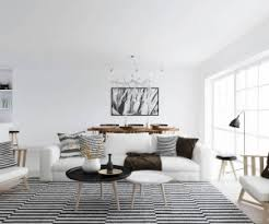 Black And White Stripped Rug Rug And Mat