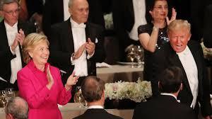 Hillary Clinton Hometown Ny by Trump U0027s Jokes Strike A Sour Tone At New York U0027s Al Smith Dinner