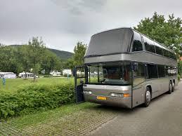 video tour of a double decker bus rv conversion
