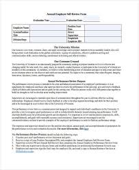 19 sample employee review forms