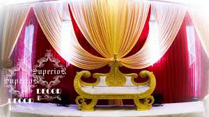 how to make wedding backdrop by superior decor