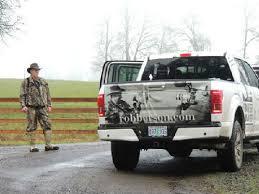 ford hunting truck hunting roosevelt elk in western oregon