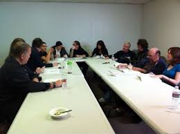 Sons Of Anarchy Meeting Table Sons Of Anarchy Images Soa Season 4 Script Readthrough Wallpaper