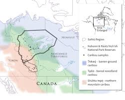 Canada Territories Map by