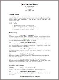 formats for a resume curriculum vitae format for uk curriculum vitae example format