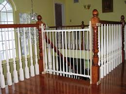 wooden gate for stairs wood stairs are a beautiful element with