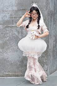 jellyfish dress cosplayfaqs character tsukimi series kuragehime cosplayer evyn