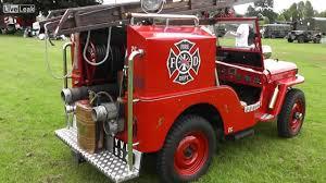 vintage jeep vintage jeep firetruck youtube