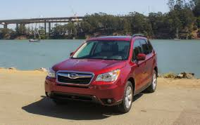 red subaru forester 2015 2016 subaru forester review roadshow