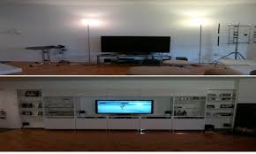 tv stand for bedroom tv on wall ideas besta tv unit zamp co