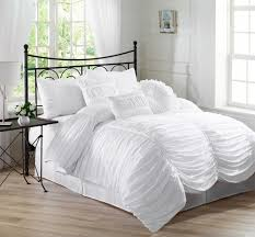 bedroom lovely pintuck duvet cover for bed decorating ideas