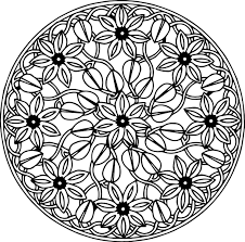 mandala art coloring pages printable coloring pages