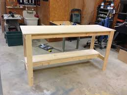 Workbench Designs For Garage Diy Workbench Wilker Do S