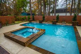 bevers geomtric pool design in houston