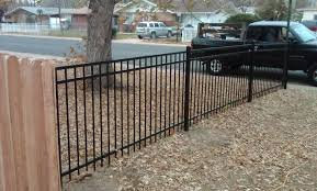fence metal fence materials miraculous steel fence materials