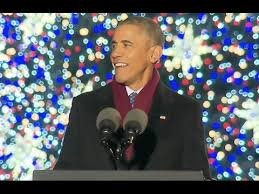 obama jokes at tree lighting