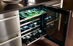 Under Cabinet Wine Fridge by Wine Refrigerators U2013 Built In Wine Cooler Thermador