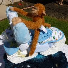 how to make a diaper motorcycle baby shower show stopper 10 steps