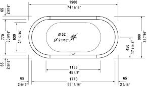 starck tubs shower trays bathtub 700012 duravit