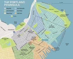 Downtown Portland Map by Location U0026 Neighborhood Luminato Luminato