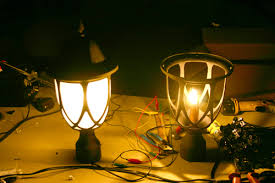 low voltage led column lights can line voltage l posts be converted to low voltage outdoor