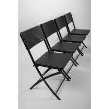 design klappstuhl 4 x klappstuhl gartenstuhl cingstuhl klappbar rattan