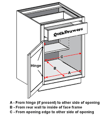 what is the depth of a base cabinet how to order install pullout shelving