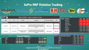 Map Price Gopro Map Violations Price Monitoring