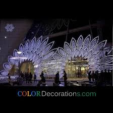 wholesale cd od106 led light iron garden arch decorations