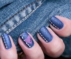 50 blue nail art designs white polish glitter paint and black