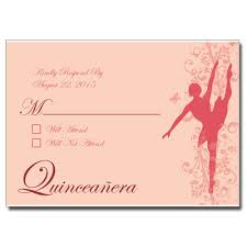 Response Card Wording Quinceanera Response Cards Rsvp Cards For Sweet 15