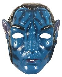 Mask Of Halloween Jake Sully Avatar Child Mask Of A Na U0027vi Horror Shop Com