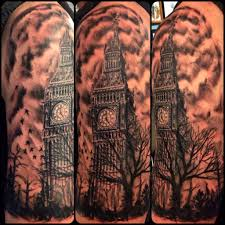 20 awesome big ben sleeve tattoos