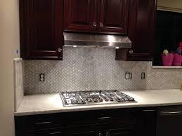backsplash tiles for dark cabinets stainless steel backsplash tiles white marble contertops stainless