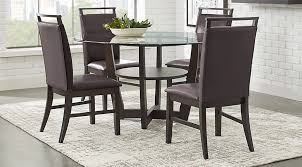 ciara espresso 5 pc dining set dining room sets dark wood