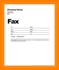 7 generic fax cover sheet word document delivery challan